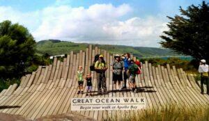 trail head great ocean walk