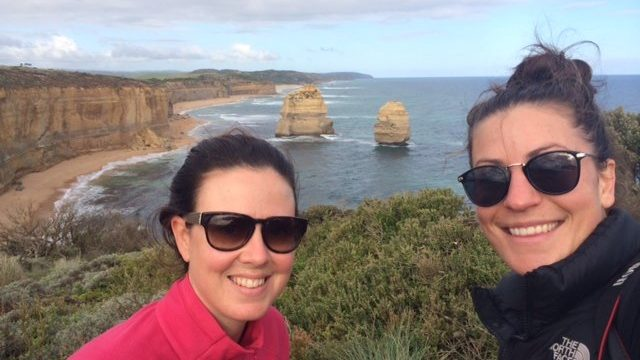 Jessica Shapland on the Great Ocean Road Walk