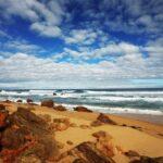 Rocky beach on the Great Ocean Walk