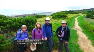 Don on the great Ocean Walk