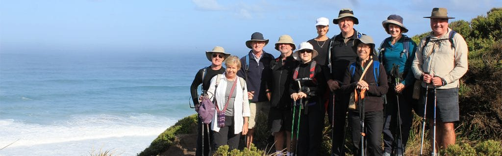 Group on the Great Ocean Walk
