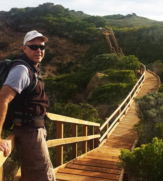 Mark on the Great Ocean Walk